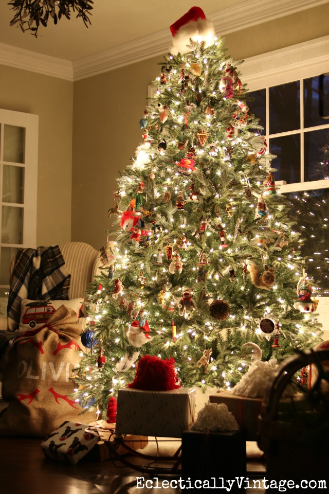 Glowing Christmas tree kellyelko.com