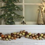 How to make ornament garland eclecticallyvintage.com