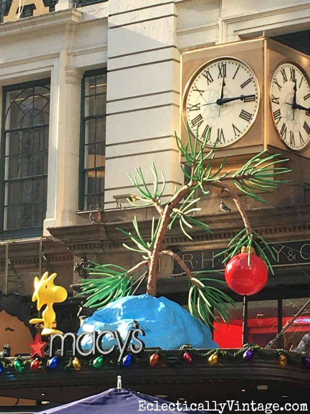 Macy's Christmas - Peanuts kellyelko.com