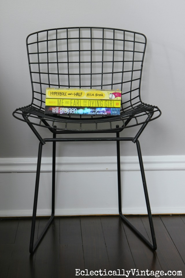 Childs Bertoia chair kellyelko.com
