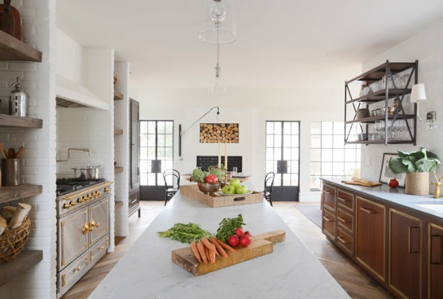 Tour this amazing 1900's French Tudor by Summer Thornton Designs kellyelko.com
