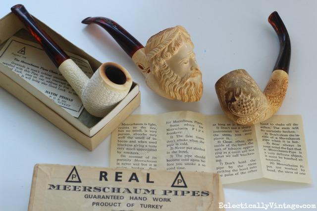 meerschaum-pipes-collection & Collecting Meerschaum Pipes