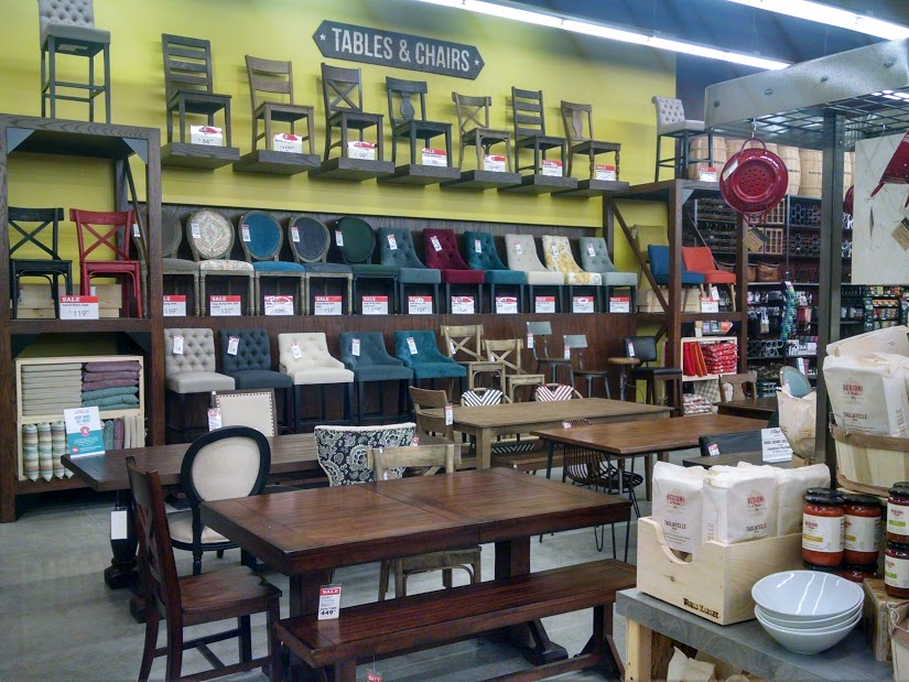 Love the selection of dining tables and chairs at World Market kellyelko.com