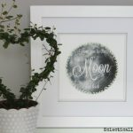 Free Printable - Love you to the Moon and Back eclecticallyvintage.com
