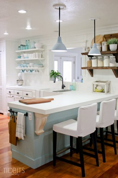Cottage Kitchen and home tour eclecticallyvintage.com
