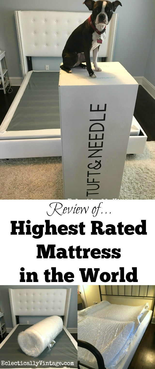 Highest Rated Mattress in the World! A review kellyelko.com