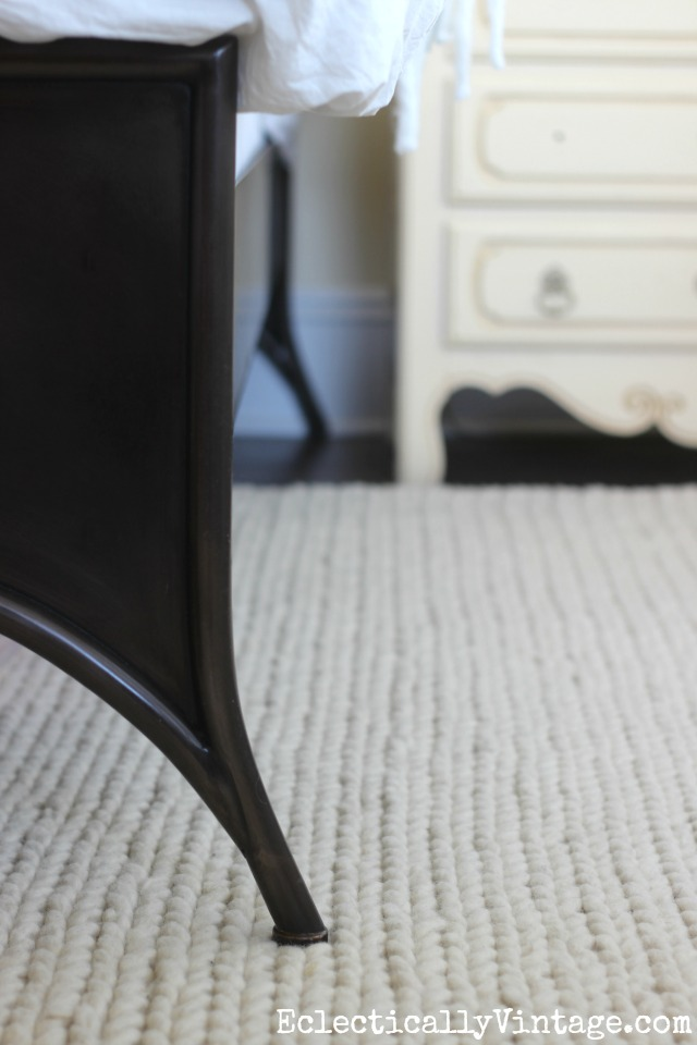 Add texture with a chunky wool rug kellyelko.com