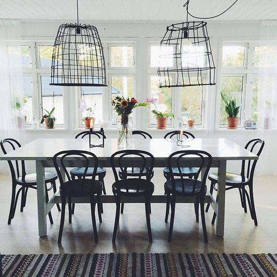 Eclectic Swedish Home Tour eclecticallyvintage.com