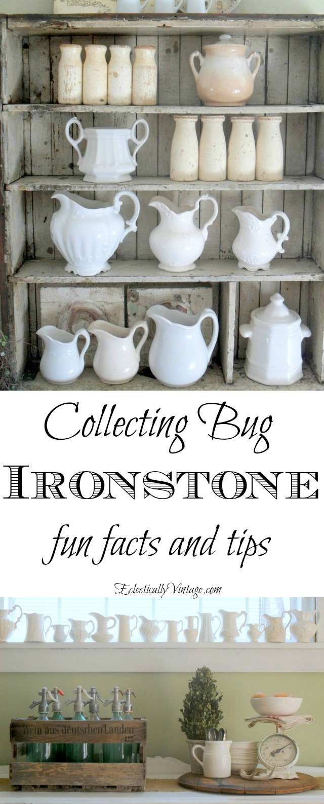 Collecting Ironstone kellyelko.com