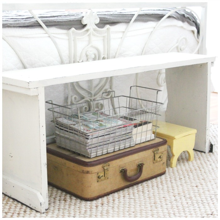 Vintage suitcase storage kellyelko.com