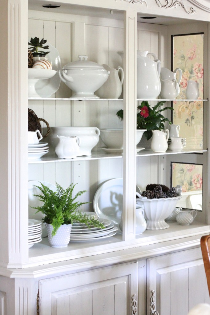White stoneware collection eclecticallyvintage.com