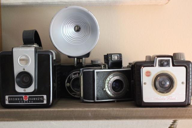 Vintage camera collection kellyelko.com