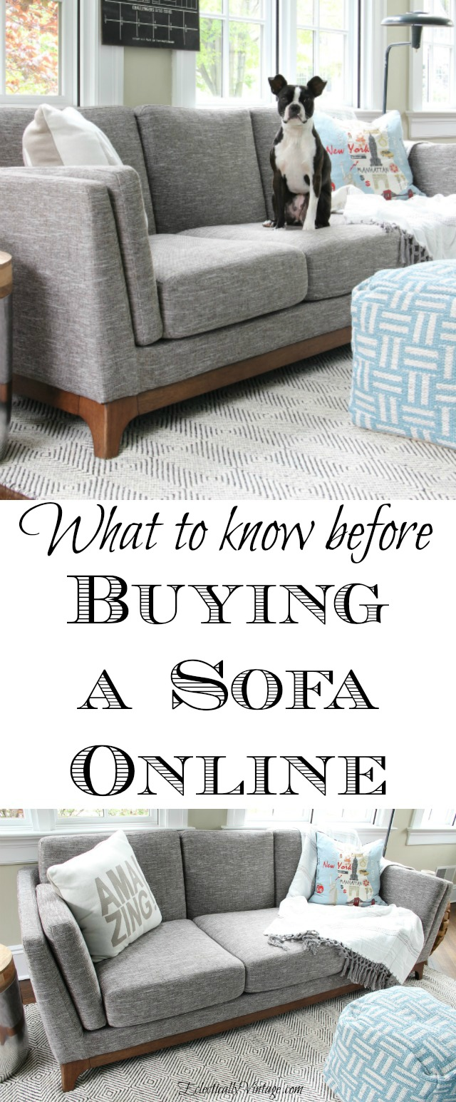 Tips for Buying Online Sofa - what to know before you buy! kellyelko.com
