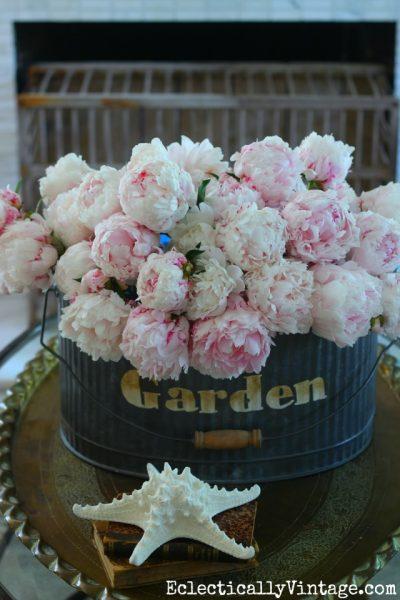peonies, flower arranging, flower frot