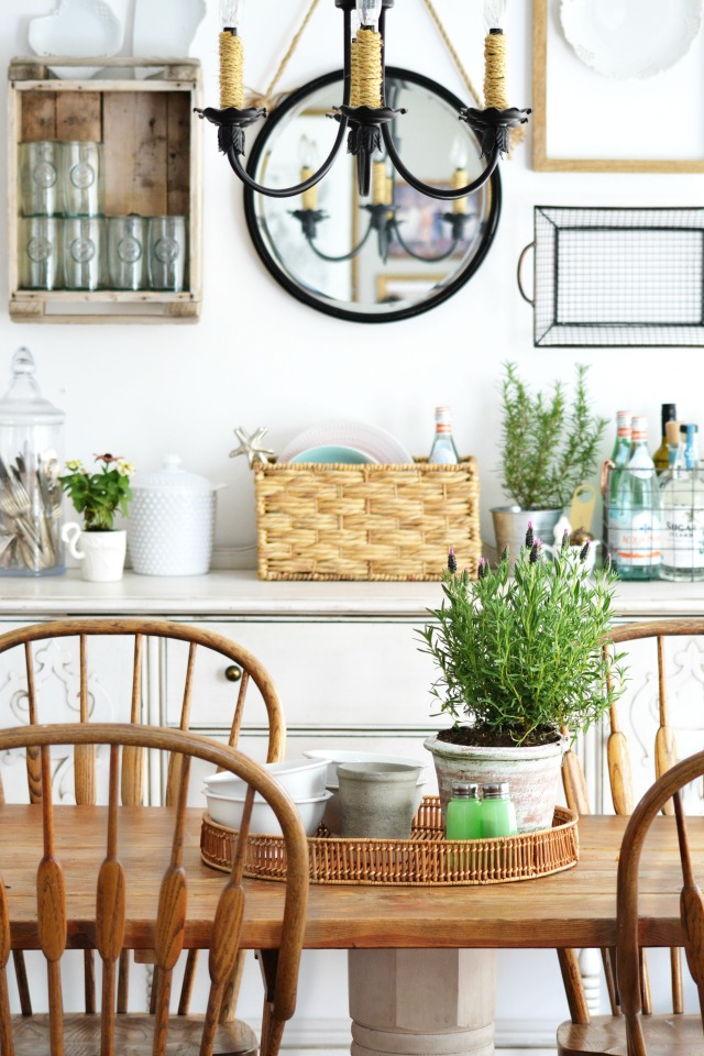 Eclectic Home Tour of My Fabuless Life - love her style done on a budget kellyelko.com
