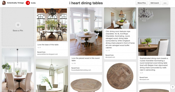 Dining Table Inspirations kellyelko.com