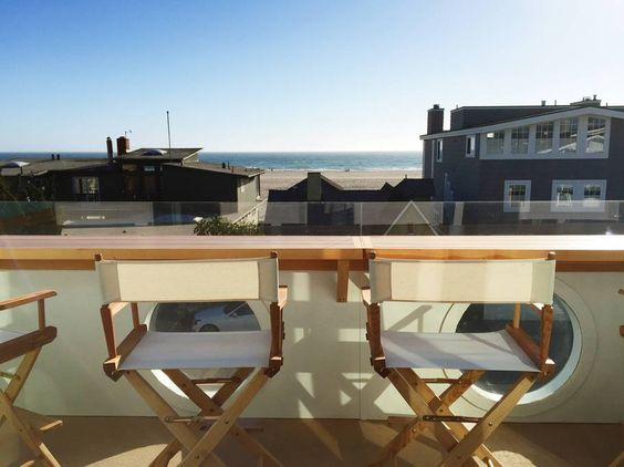 California beach house view kellyelko.com
