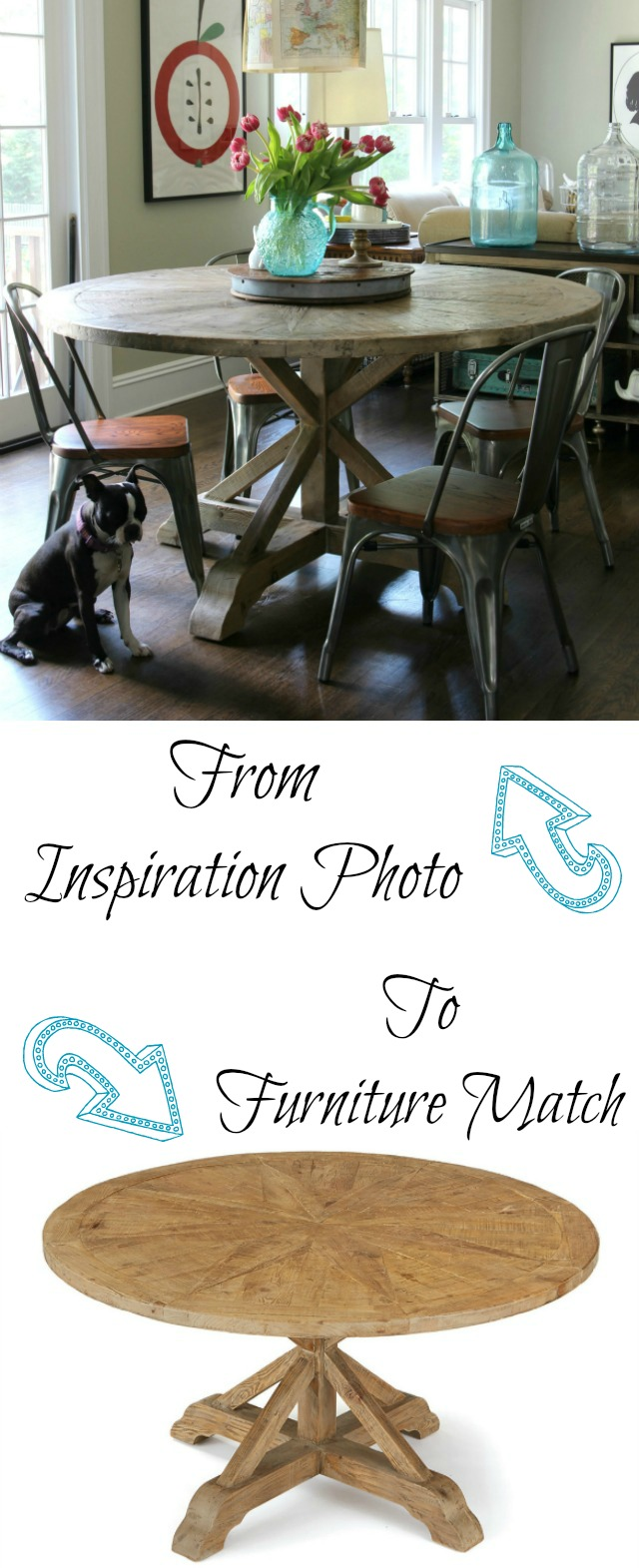 How to Find the Furniture in Inspiration Photos (in magazines and favorite pins)! kellyelko.com