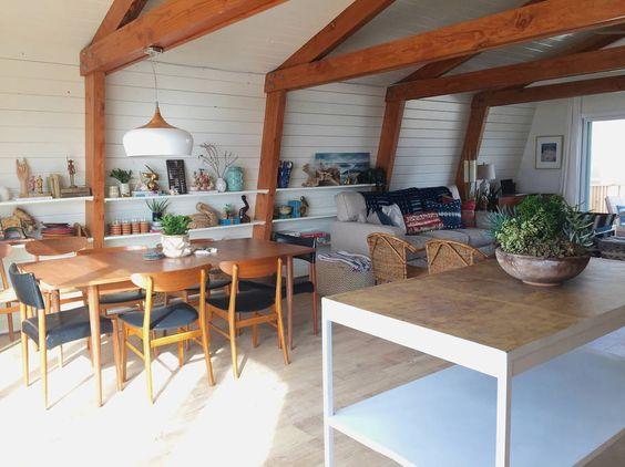 Open floor plan beach house eclecticallyvinage.com