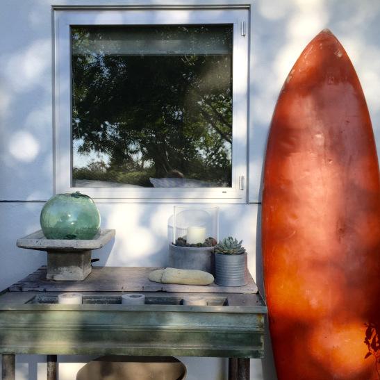 Every beach house needs a surf board kellyelko.com