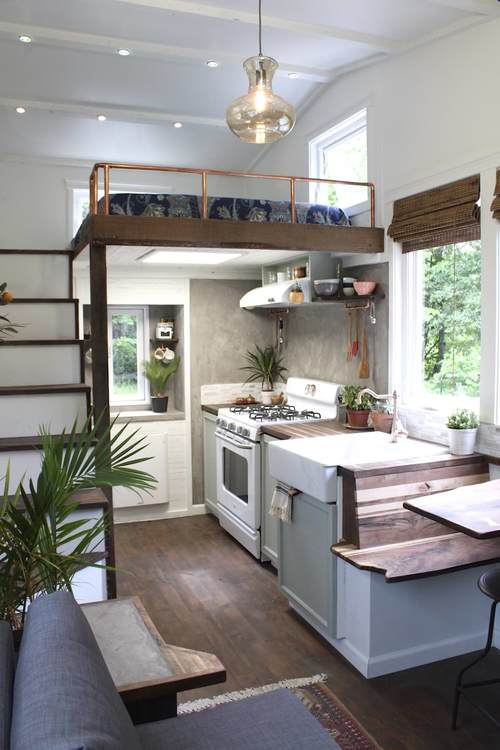 Handcrafted Movement Tiny House Tour This Sustainable One Of A Kind With